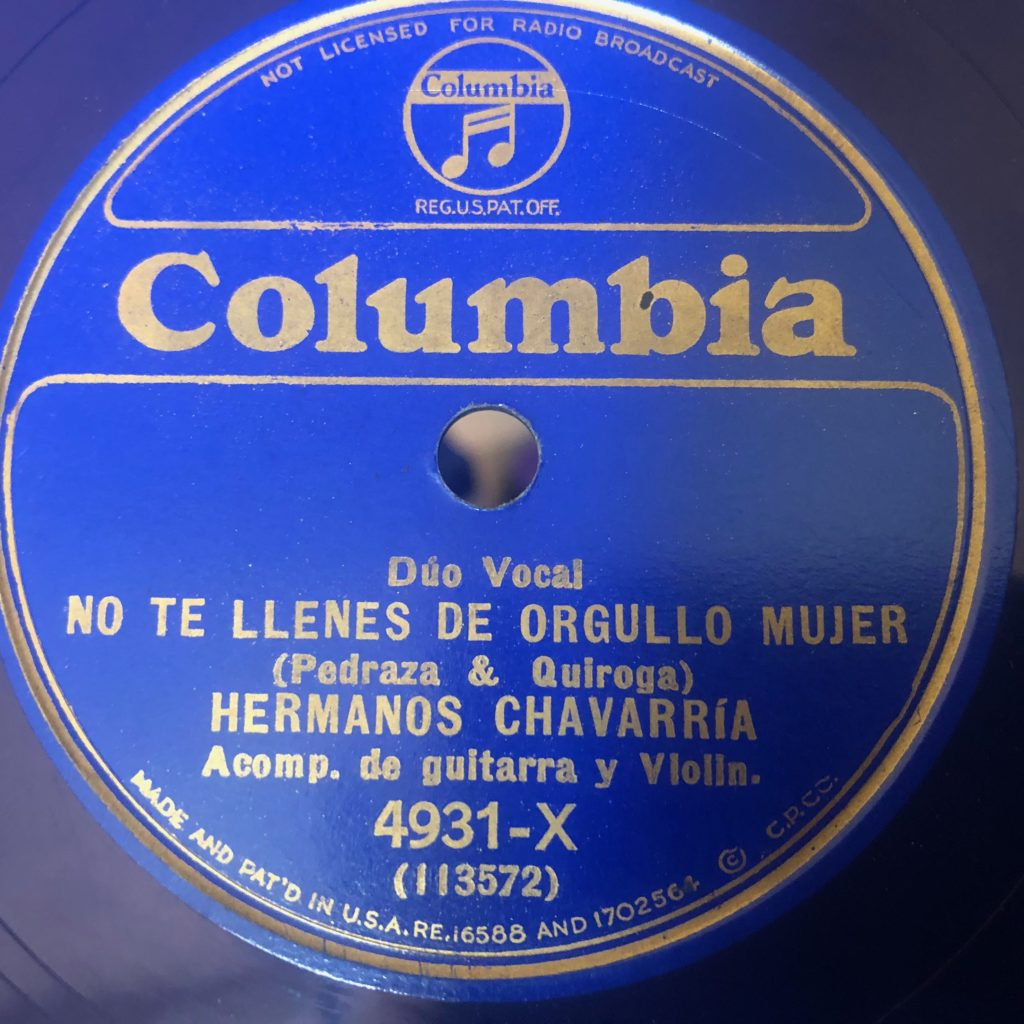 NO TE LLENES DE ORGULLO MUJER HERMANOS_CHAVARRIA