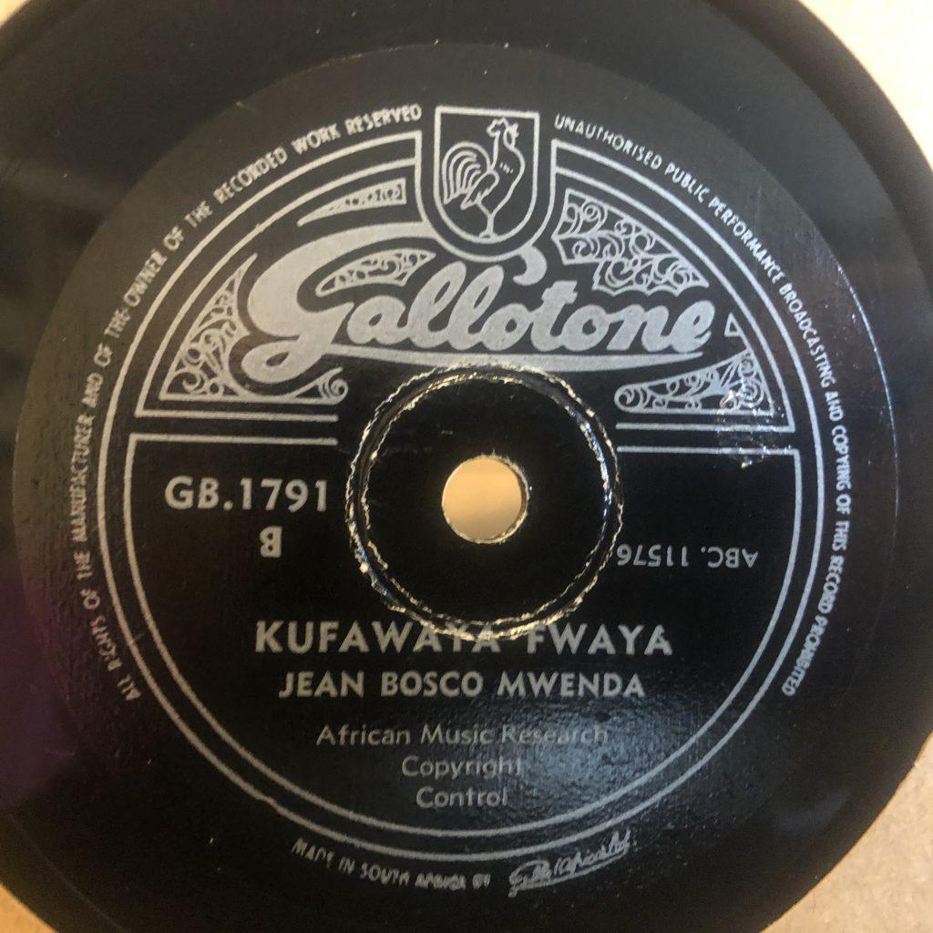 JEAN BOSCO MWENDA gallotone 1791