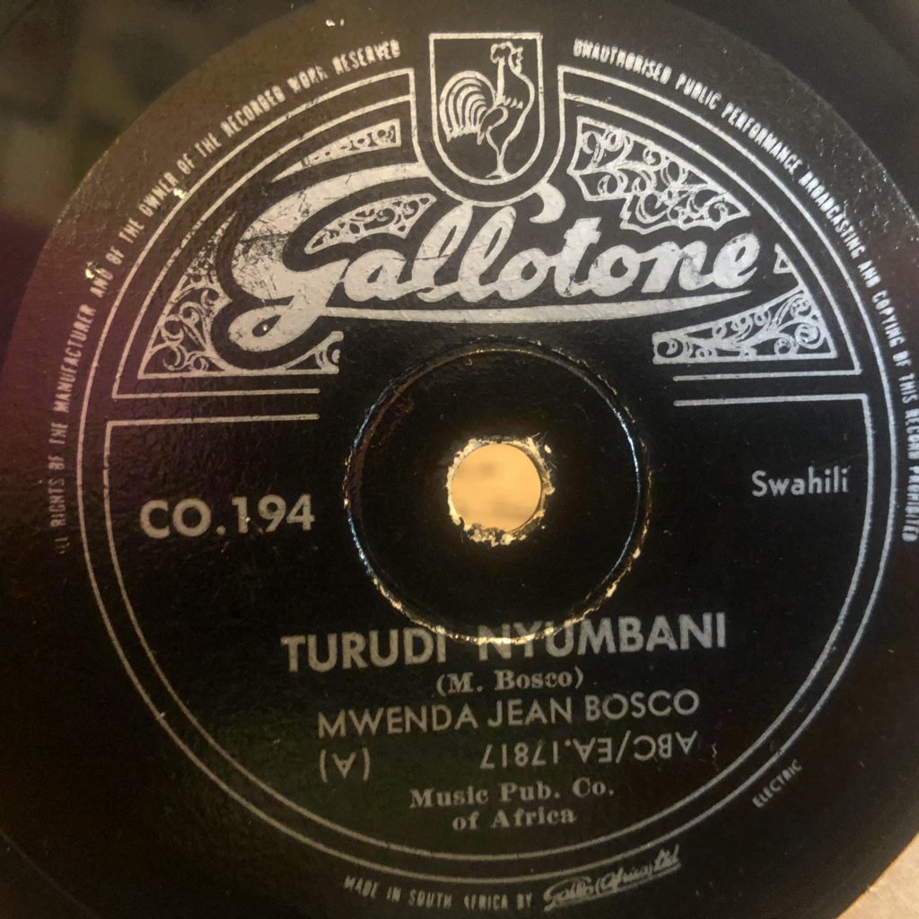 JEAN BOSCO MWENDA gallotone 194