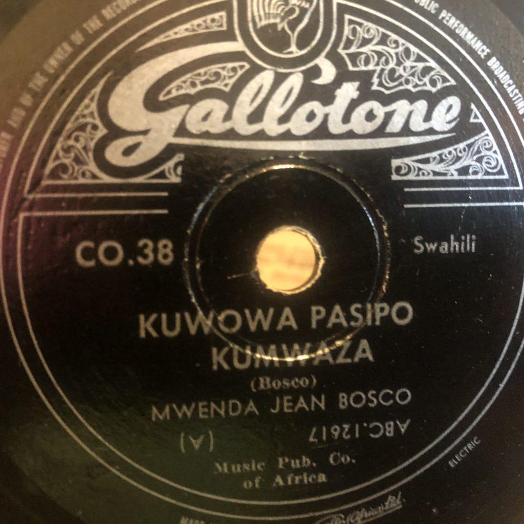 JEAN BOSCO MWENDA gallotone 38