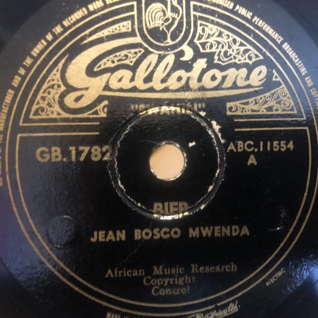 JEAN BOSCO MWENDA gallotone 1782