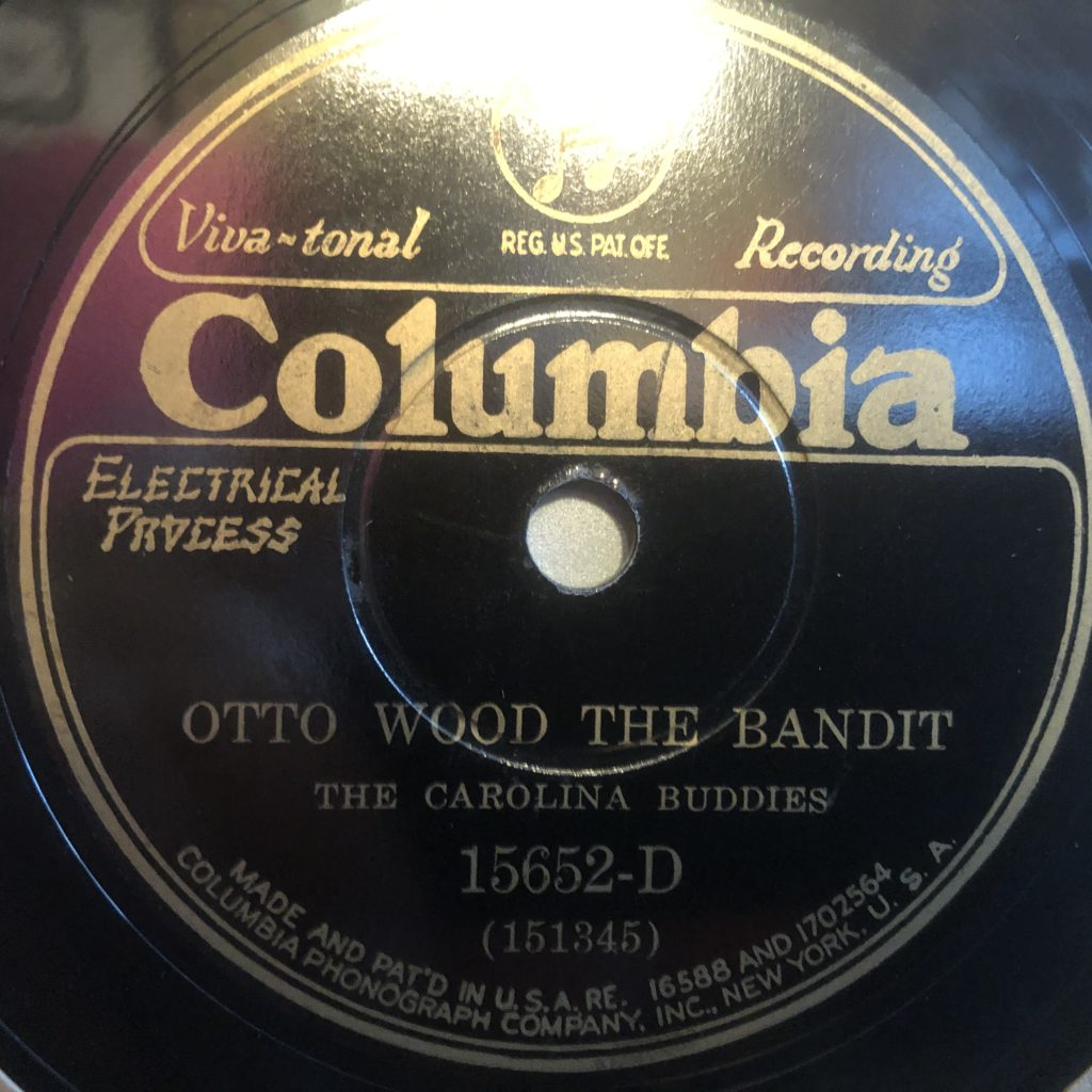 walter kid smith otto wood the bandit carolina buddies