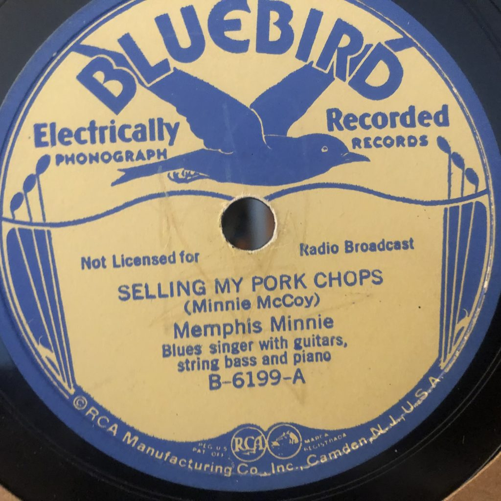 memphis minnie bluebird 6199