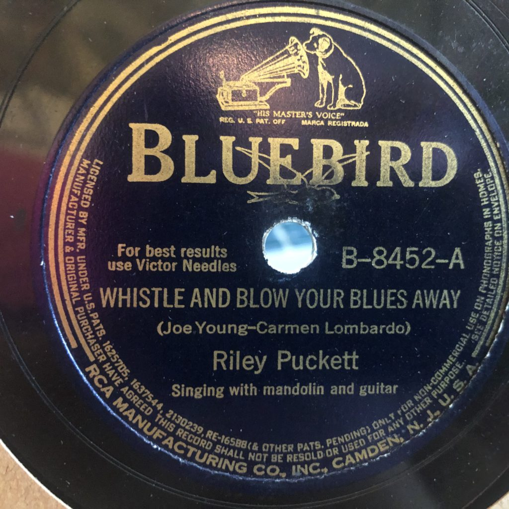 RILEY PUCKETT bluebird 8452