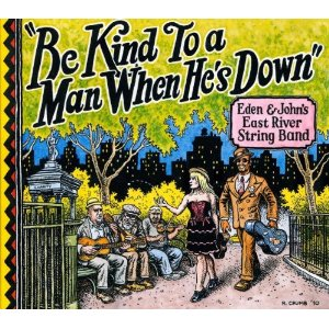 be kind to a man when he's down cover by robert crumb