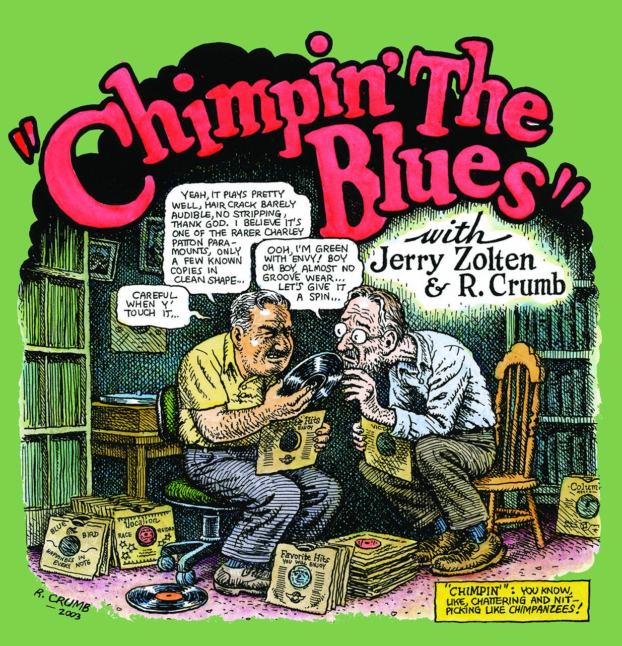 chimpin the blues R. Crumb john heneghan eden brower east river string band