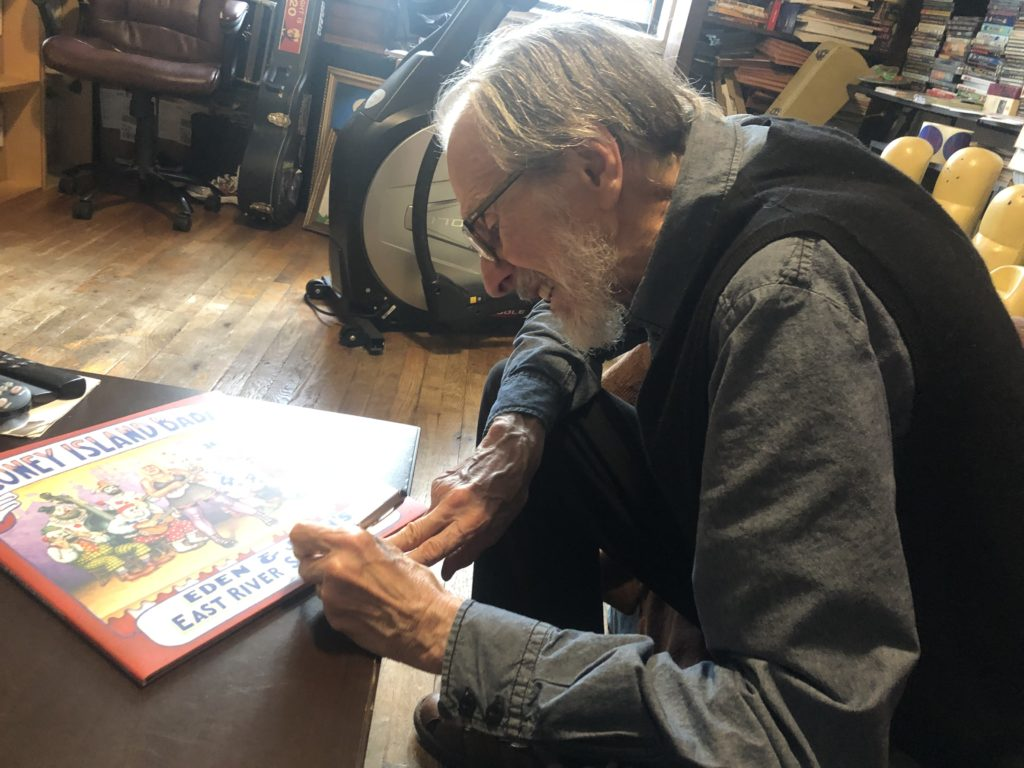 r. crumb signs lp east river string band