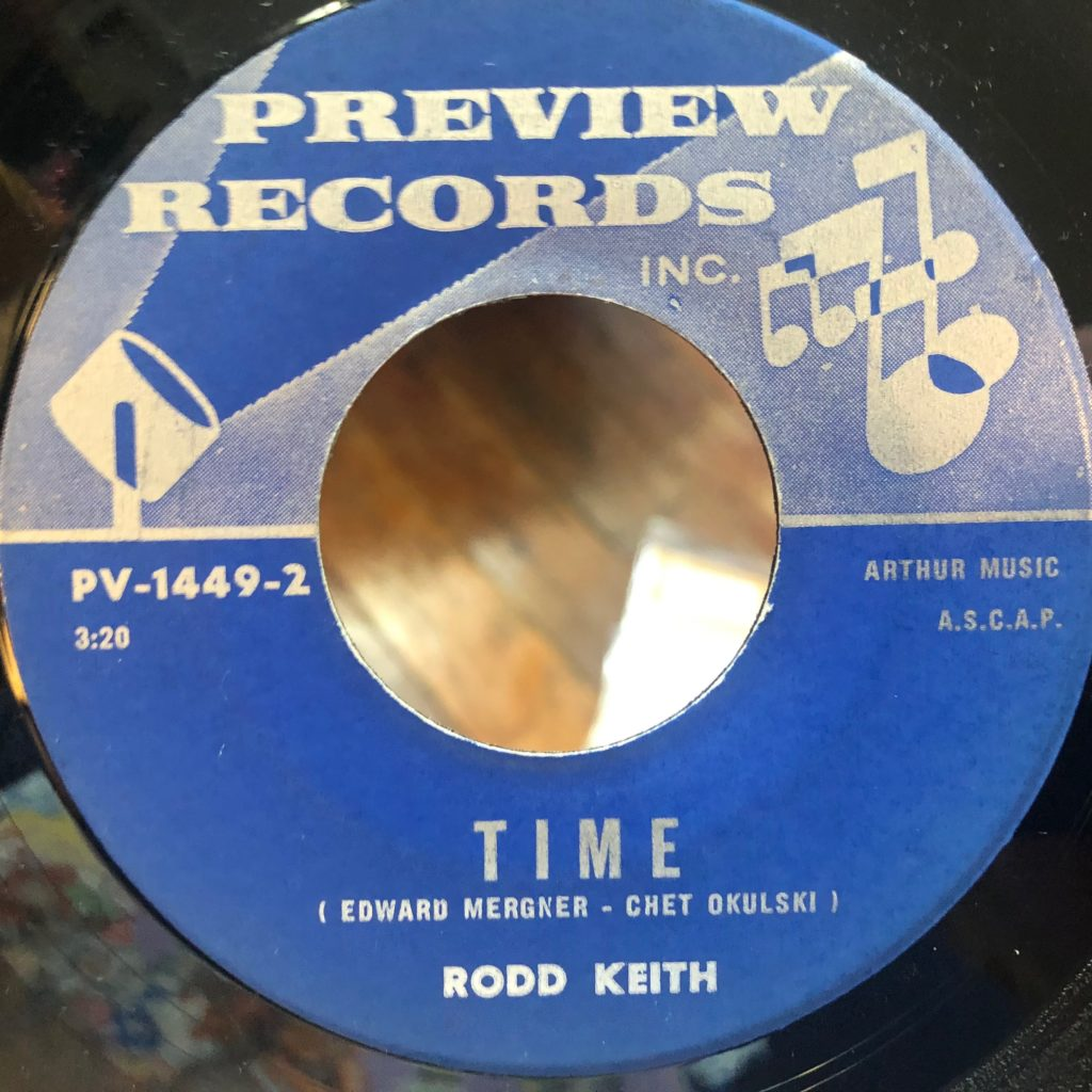 preview 1449 time rodd keith 45 rpm song-poem