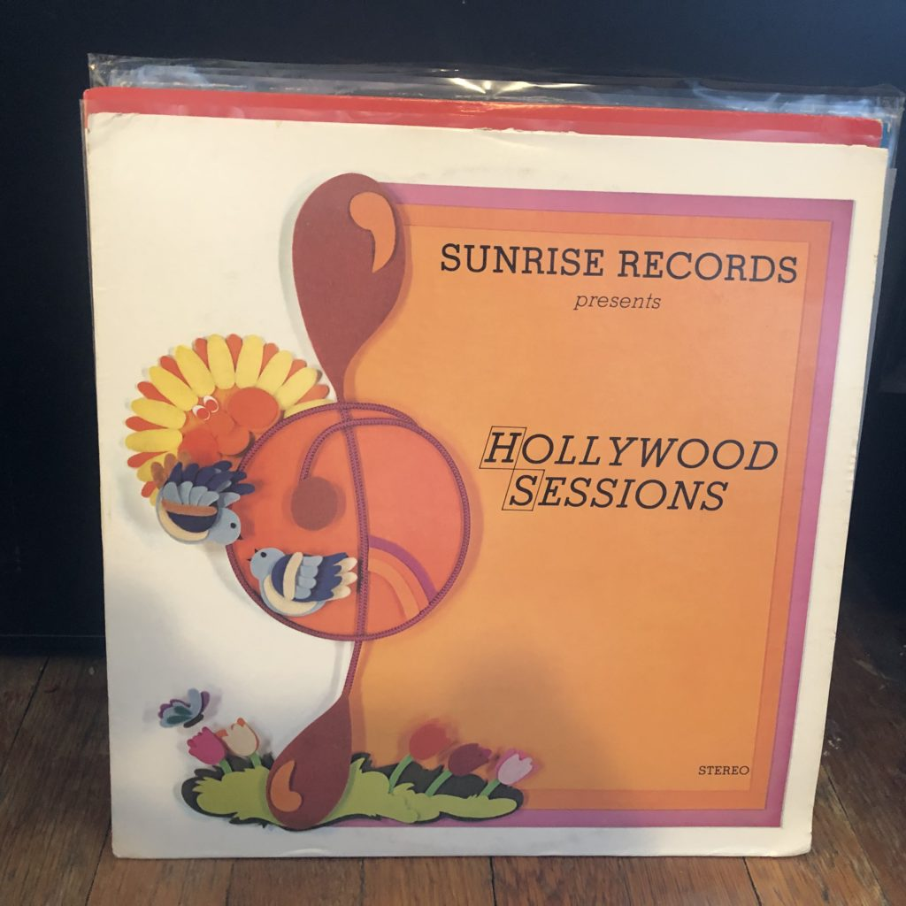 sunrise records hollywood sessions song-poem lp